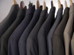 The seemingly innocuous task of buying a suit takes on a whole new meaning